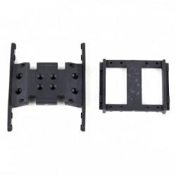 Soportes de caja de cambios y servo (Duro), Element RC Enduro