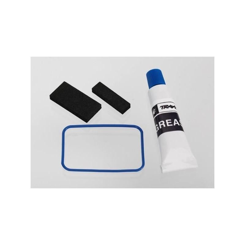 Kit de juntas, caja receptora (incluye junta tórica, juntas y silicona