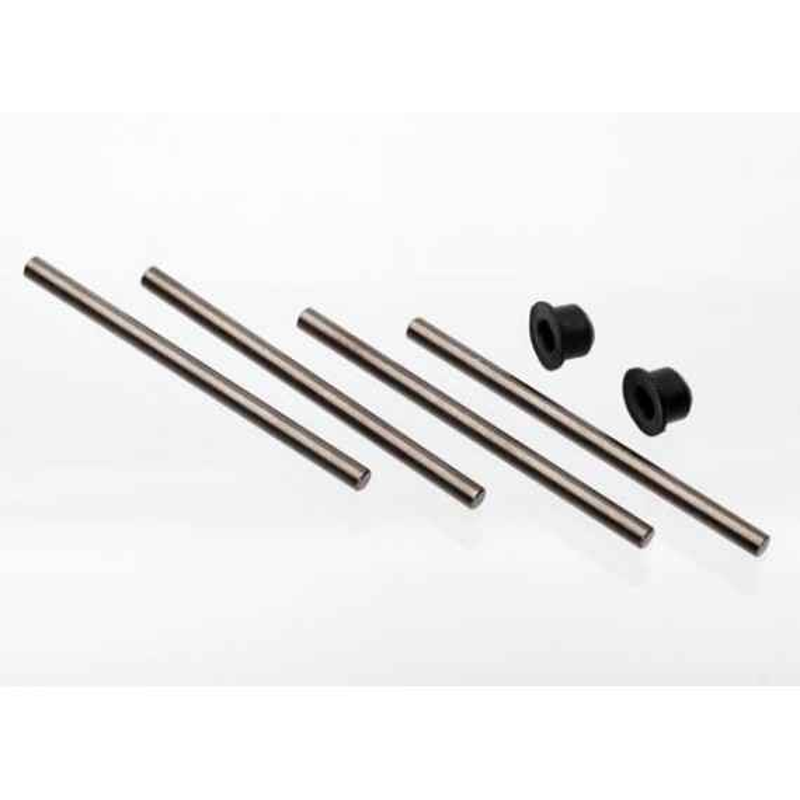 Pasadores de suspensión, bujes de fuente y trasero (4) / barra de unión