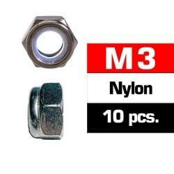 Tuercas Autoblocantes M3 Ultimate Racing (10pcs)