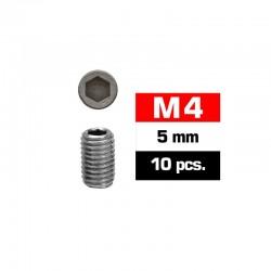 Prisioneros M4x5 Ultimate Racing (10pcs)