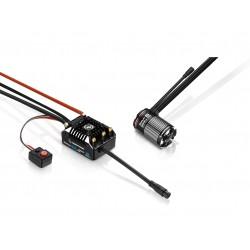 Combo Hobbywing XERUN AXE540L 1400KV R2 FOC SENSORED Brushless System (Crawler)