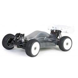 Hobao Hyper VSE Pro Buggy Elektro 1/8 80% ARR Roller (Clear Body)
