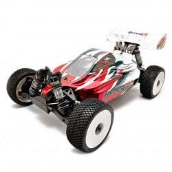 Hobao Hyper VSE Brushless Buggy 1/8 150A 6s RTR Rojo