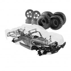 Hobao Hyper 10 Short Course 1/10 80% ARR Roller (Clear Body)
