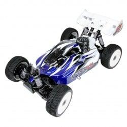 Hobao Hyper VS Nitro Buggy 21 1/8 with Blue Body