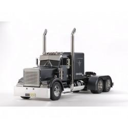 Camión Tamiya 1:14 RC Grand Hauler (Negro Mate)