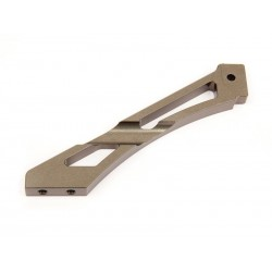 Refuerzo trasero de aluminio (anodizado duro)