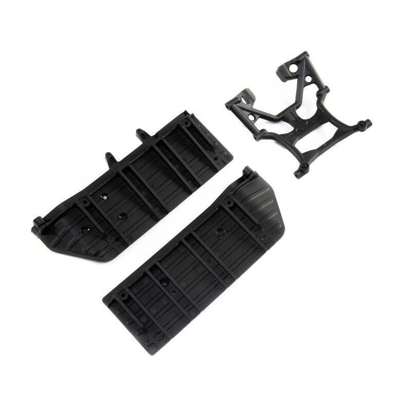 Placas laterales y refuerzo del chasis: SCX10 III