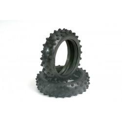 """Neumáticos, 2.1 """"con púas (delanteras) (2pcs)"""