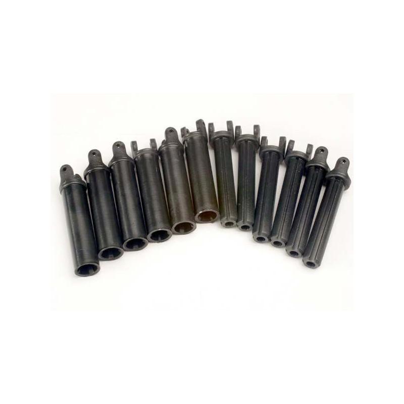 Paquete de medio eje (estriado interno (6) / estriado externo (6) (solo ejes de plástico)