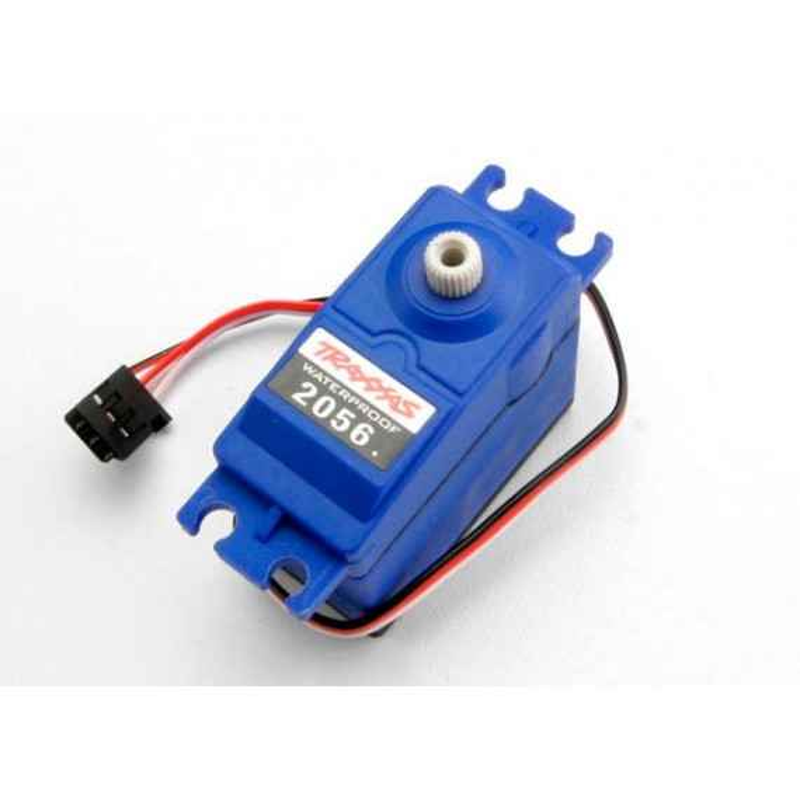 Servo high-torque waterproof Traxxas Blaster (blue case)