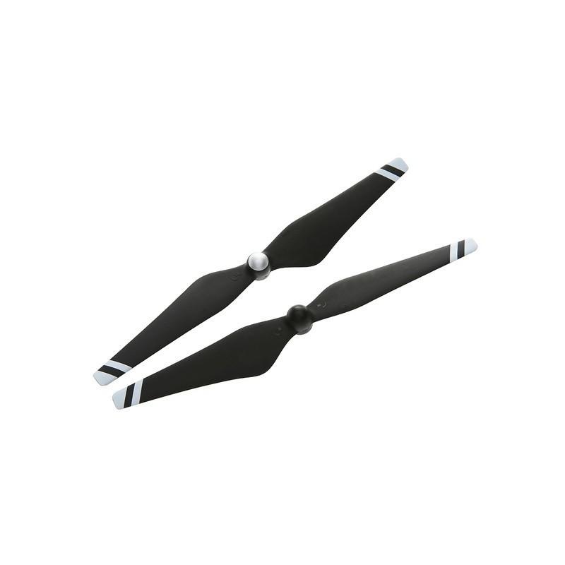Helices auto ajustables reforzadas con fibra de carbono 9450 (junturas de material compuesto, negras con franjas blancas)