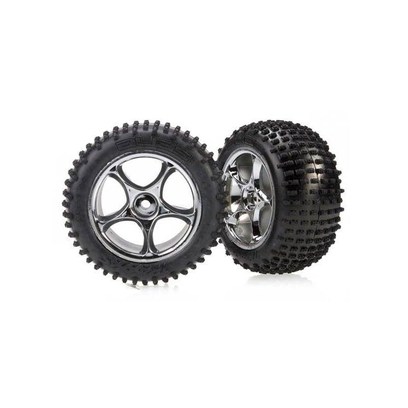 Tires & wheels assembled (Tracer 2.2 chrome wheels Alias 2