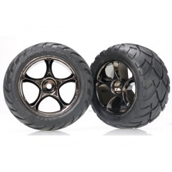 Tires & wheels assembled (Tracer 2.2 black chrome wheels) Bandit Rear