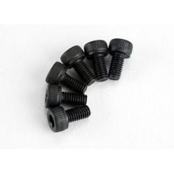 Tornillos de 3X6mm. cabeza cilíndrica (hexagonal) (6pcs)