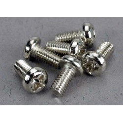 Screws 3x6mm roundhead machine (6)
