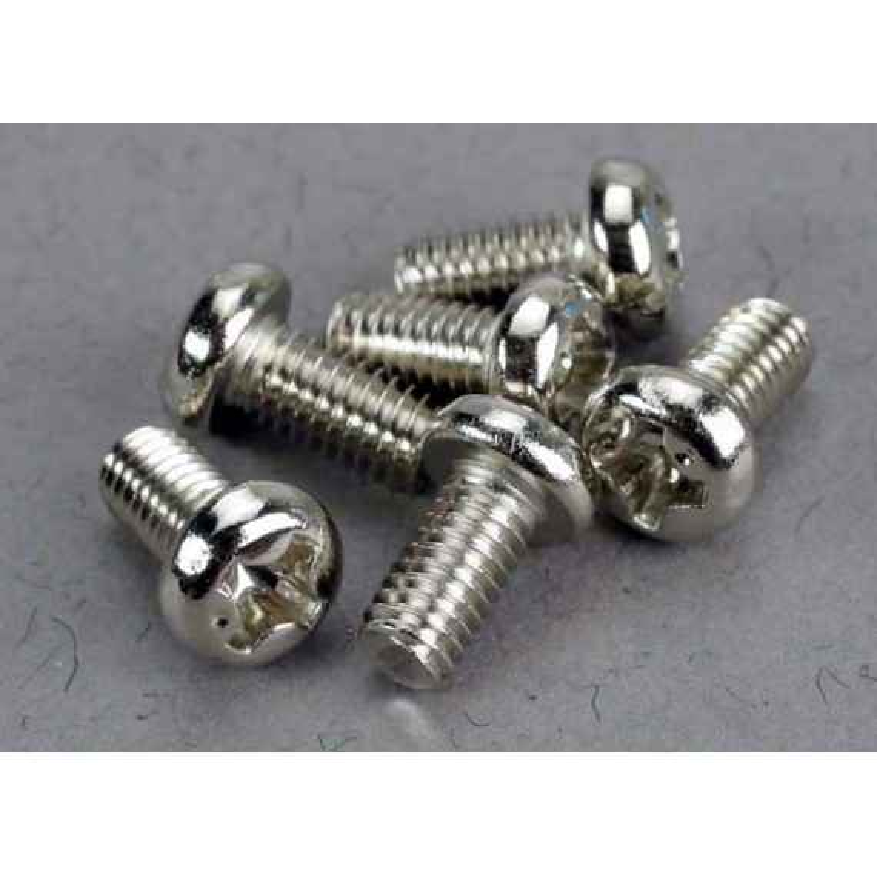 Screws 3x6mm roundhead machine (6)
