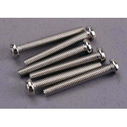 Screws 3x23mm roundhead machine (6)