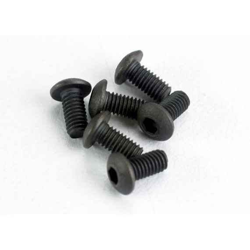 Tornillos de 3x6mm. Cabeza de botón (hexagonal) (6pcs)