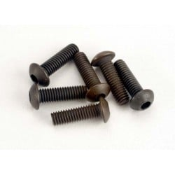 Screws 3x10mm button-head machine (hex drive) (6)