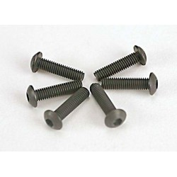 Screws 3x12mm button-head machine (hex drive) (6)