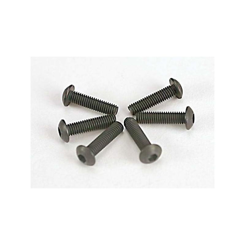 Tornillos de 3X12mm. cabeza de botón (hexagonal) (6pcs)