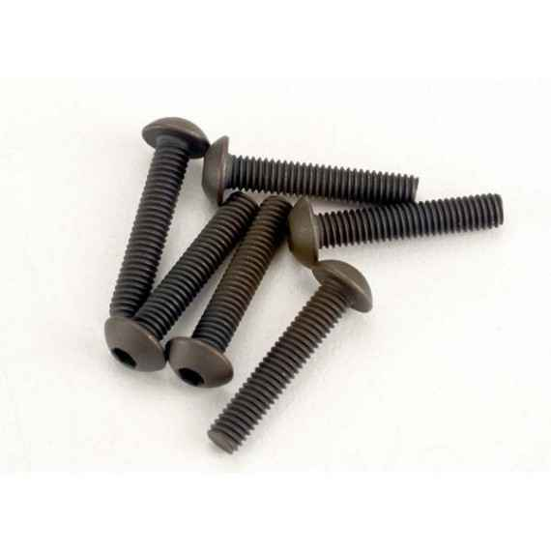 Screws 3x15mm button-head machine (hex drive) (6)