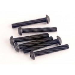 Tornillos de 3X20mm. cabeza de botón (hexagonal) (6pcs)