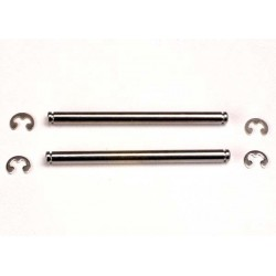 Suspension pins 44mm (2) w/ E-clips