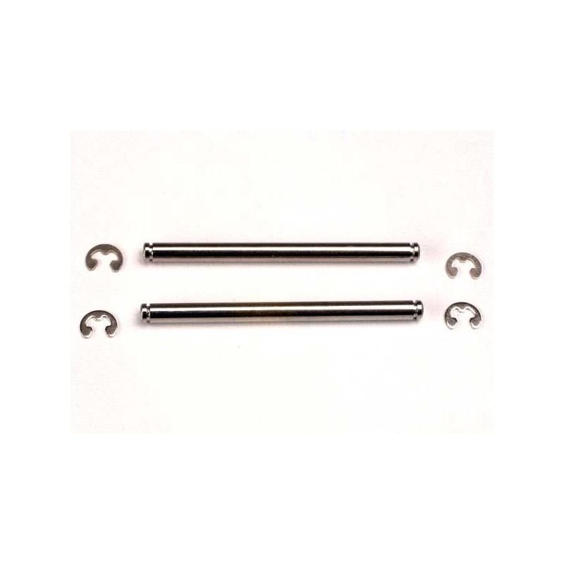 Suspension pins 44mm (2) w/ E-clips