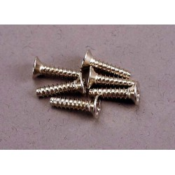 Screws 3x12mm countersunk self-tapping (6)
