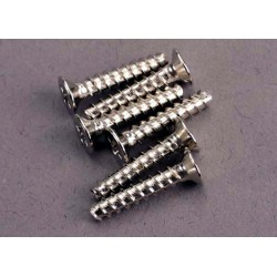 Screws 3x15mm countersunk self-tapping (6)