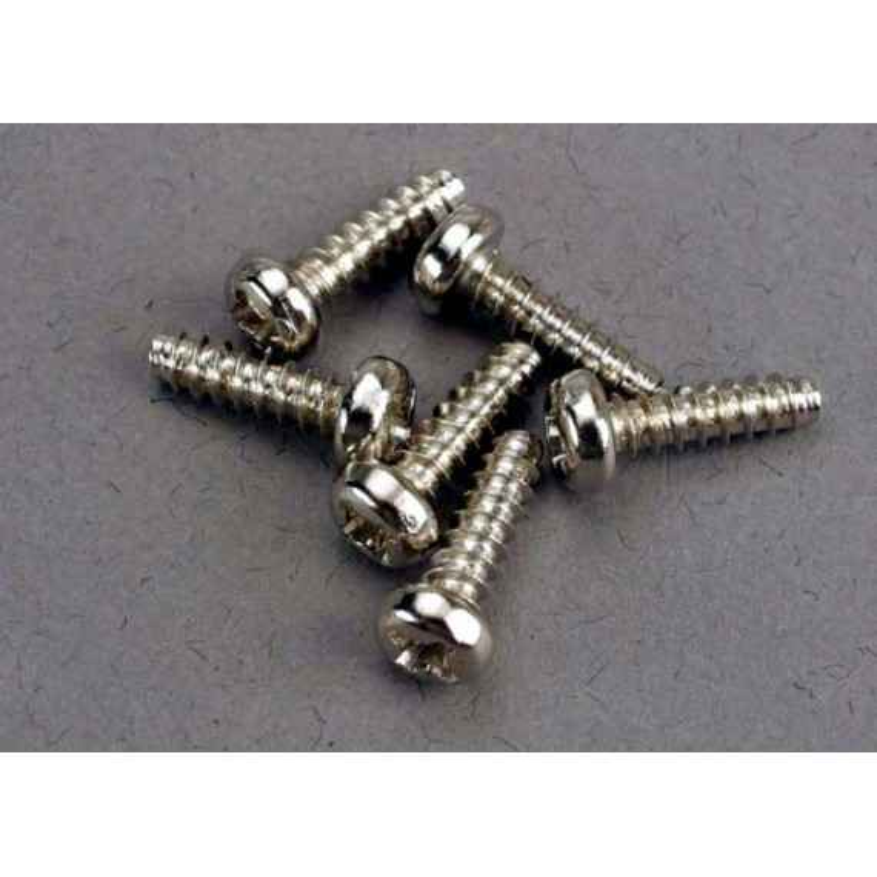 Tornillos de 3X10mm cabeza de botón, autorroscantes (6pcs)