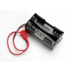 Battery holder 4-cell (no on/off switch) (for Jato and other that use female Futaba style connector)