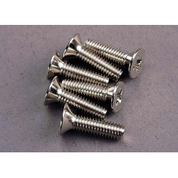 Screws 4x15mm countersunk machine (6)