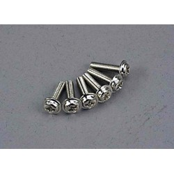 Screws 3x12mm washerhead machine (6)