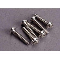 Screws 3x15mm washerhead machine (6)