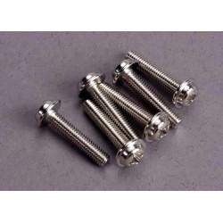 Tornillos de arandela de 3x15 mm (6)