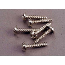 Screws 3x15mm washerhead self-tapping (6)
