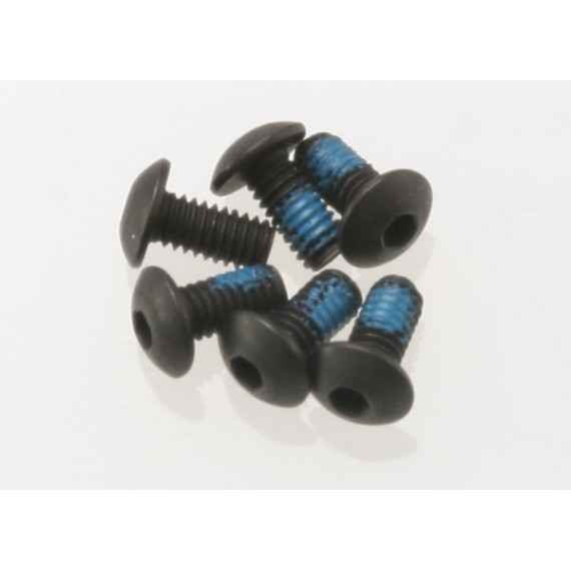 Screws 2.5x5mm button-head machine (hex drive) (6)