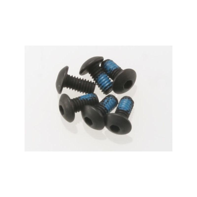 Tornillos de 2.5X5mm. cabeza de botón (hexagonales) (6pcs)