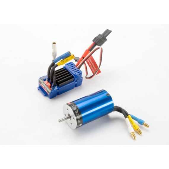 Velineon VXL-3m Brushless Power System waterproof (includes waterproof VXL-3m ESC and Velineon 380 motor,