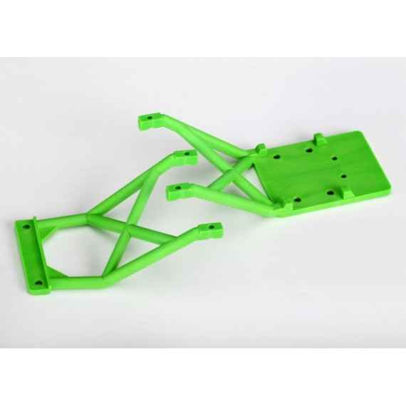 Skid plates front & rear (green)