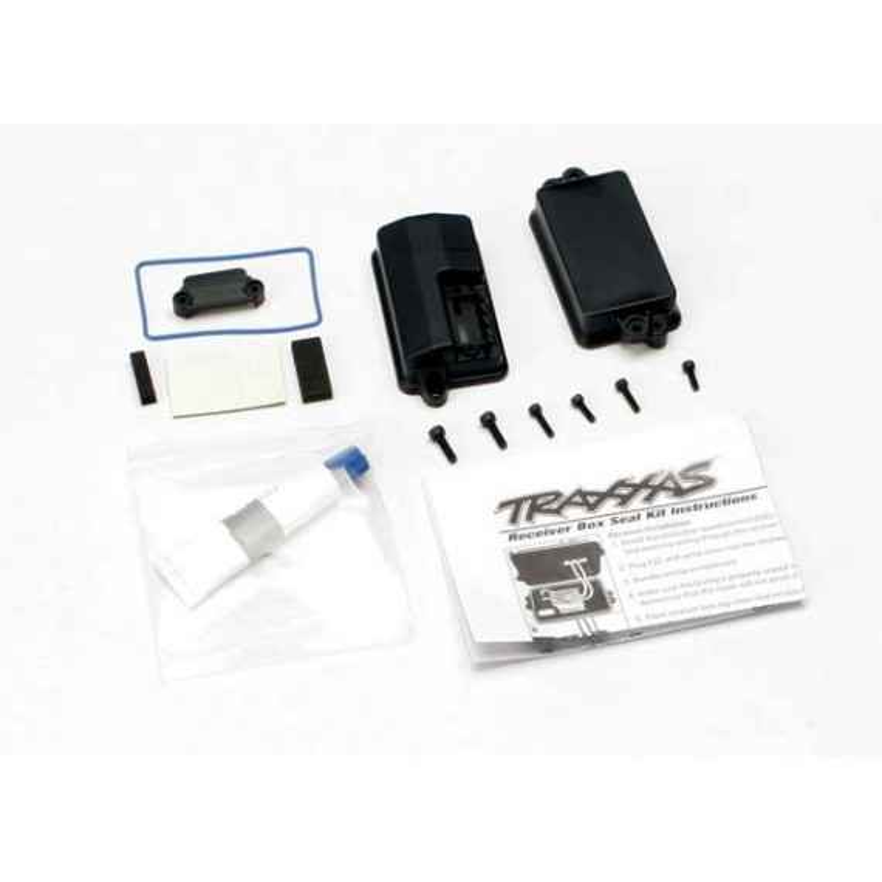 Box receiver (sealed)/ foam pad/2.5x8mm CS (2)/ 3x10mm CS (