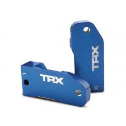 Traxxas Bloques de ruedas, aluminio 6061-T6 anodizado azul de 30 grados