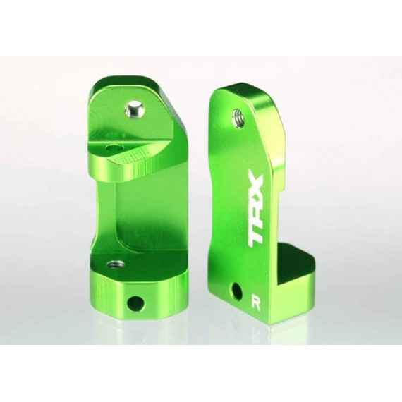 Traxxas Caster Blocks Left & RLight Green
