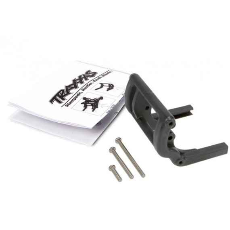 Wheelie bar mount (1)/ hardware (Stampede Rustler Bandit s