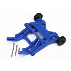 Wheelie bar assembled (blue) (fits Slash Stampede Rustler