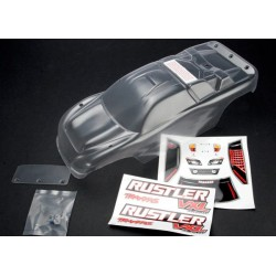 Body Rustler (clear requires painting)/window lights decal sheet